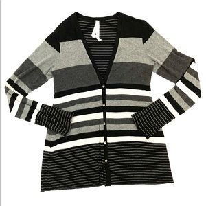 Bailey 44 Striped Cardigan Sweater
